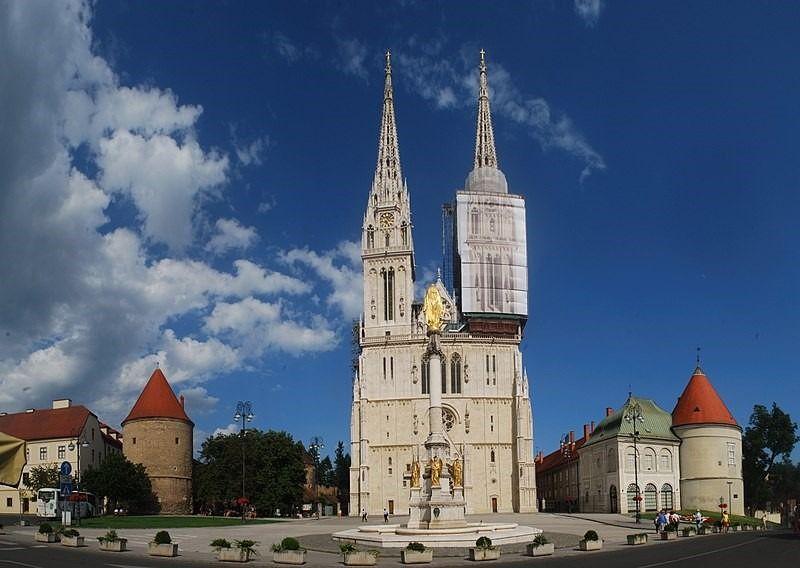 catedral de zagreb en croacia