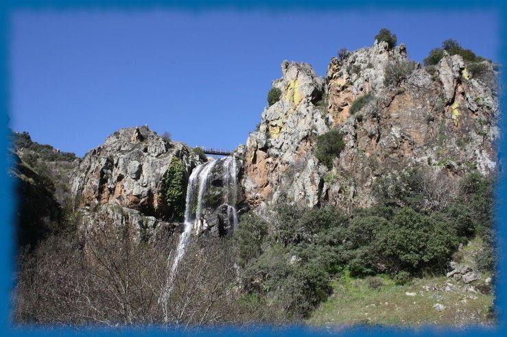 cascada de la faia da agua alta portual