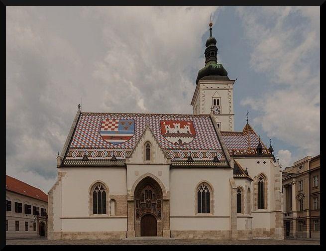 iglesia de san marcos zagreb