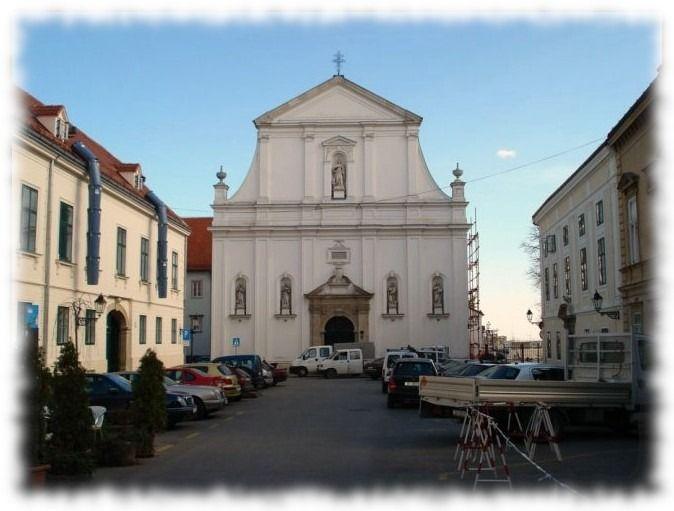 iglesia de santa catarina en zagreb
