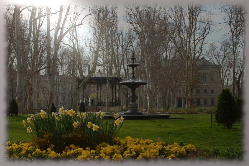 Parque Zrinjevac en zagreb