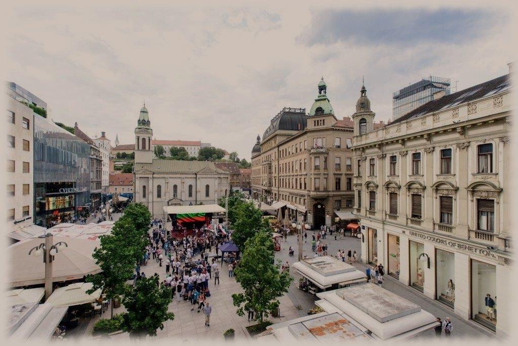Plaza Petra Preradovića en zagreb
