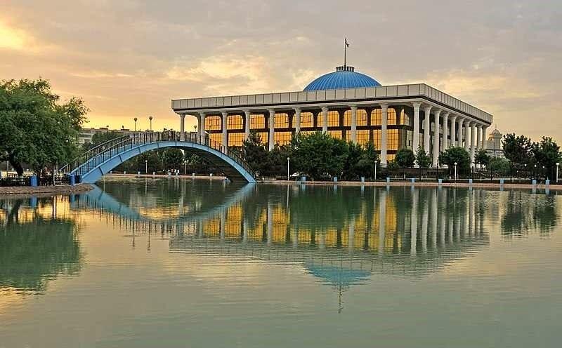 Parque Navoi Tashkent Uzbekistan