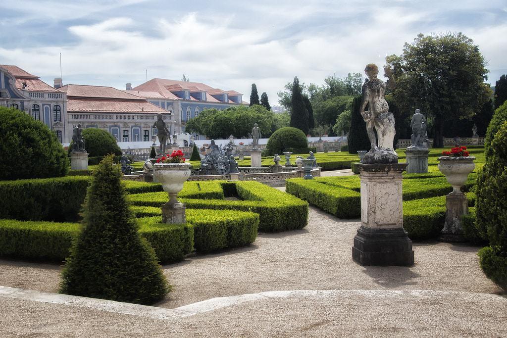Jardines del Palacio de Queluz