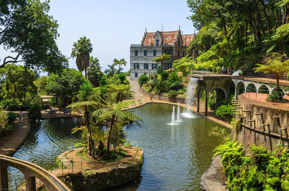 Jardín Tropical Monte Palace