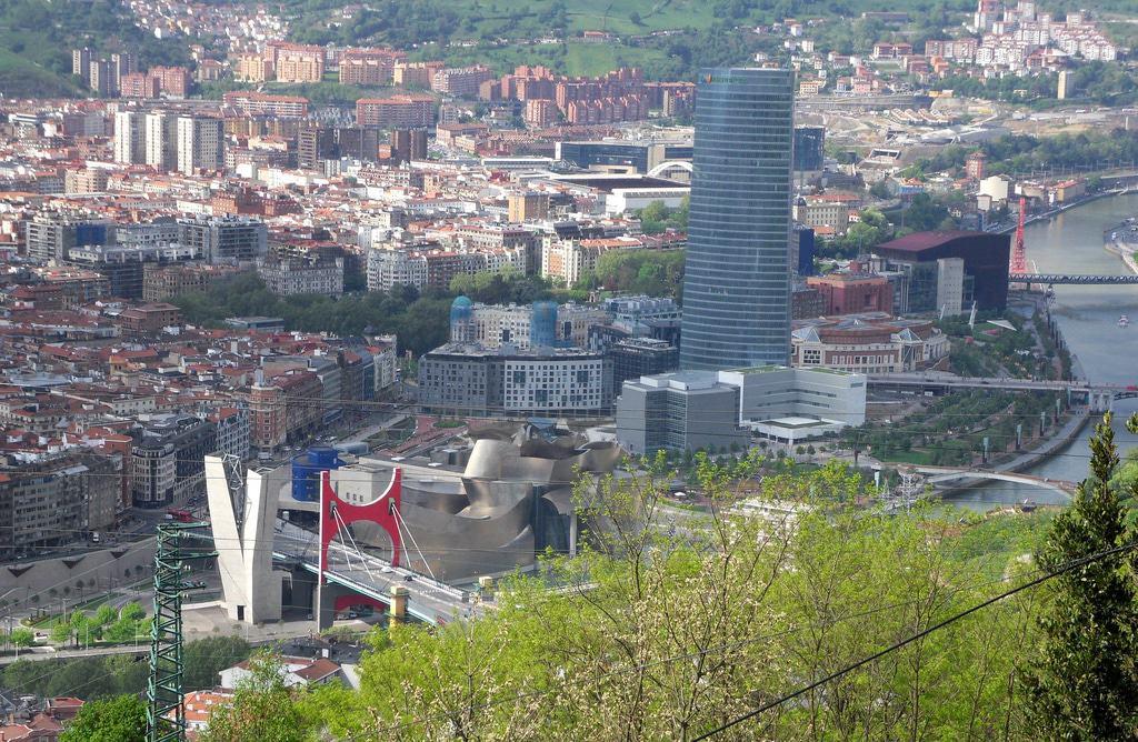 Vista desde el monte Artxanda, Bilbao