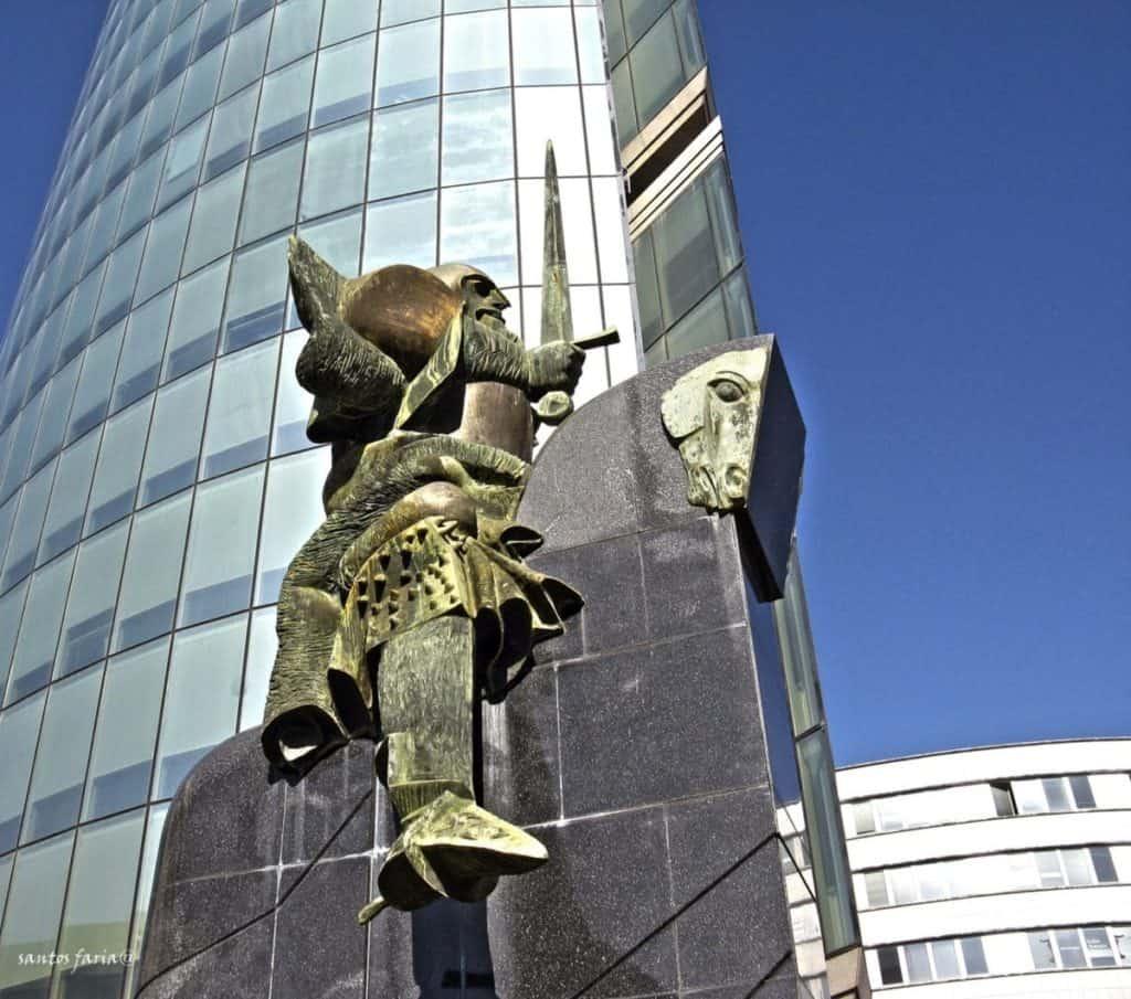 Estátua do Lidador