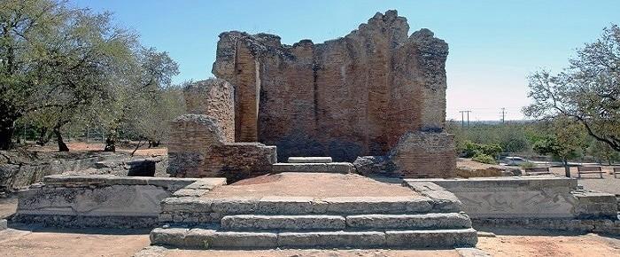 Restos romanos de Milreu