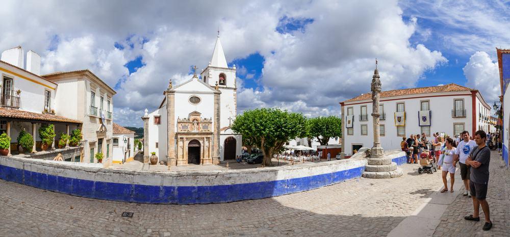 Praça de Santa Maria, Obidos