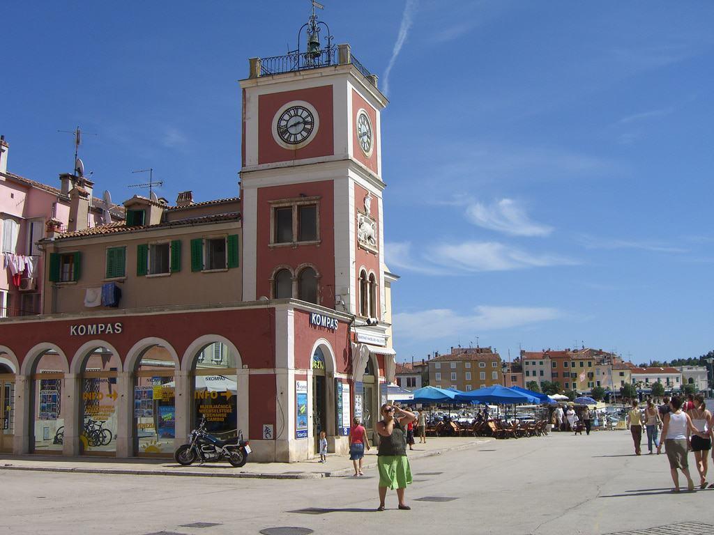 Reloj de la ciudad de Rovinj