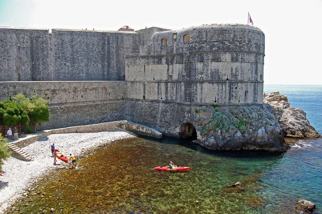 Kayak en Dubrovnik