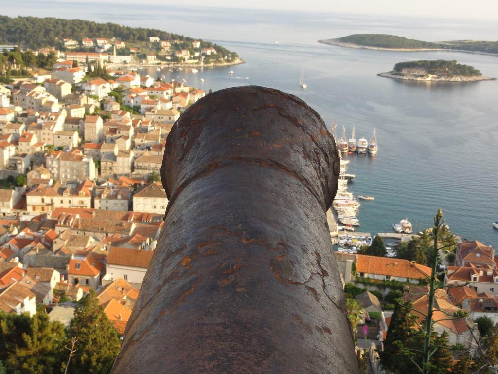 Vista desde la fortaleza de Spanjola