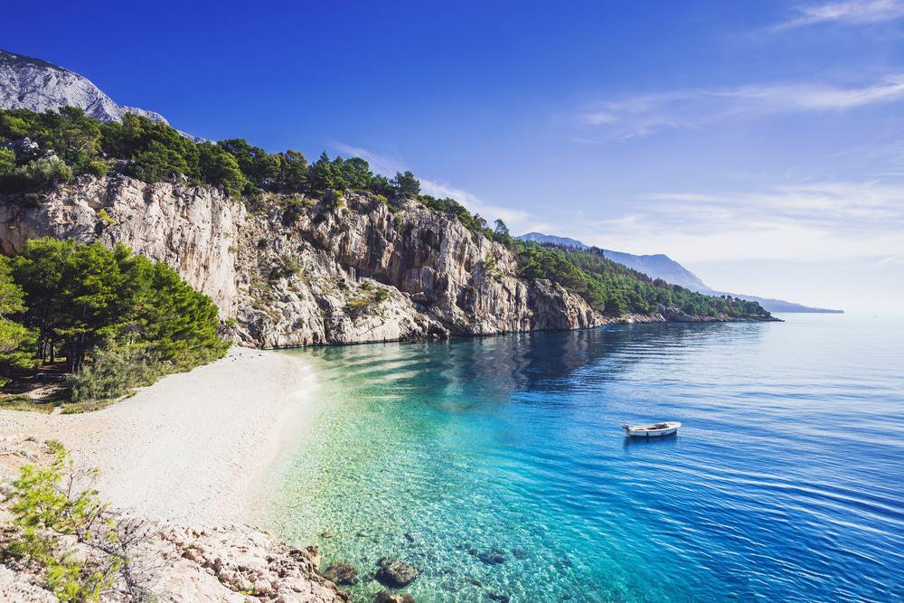 Playa Nugal, Makarska
