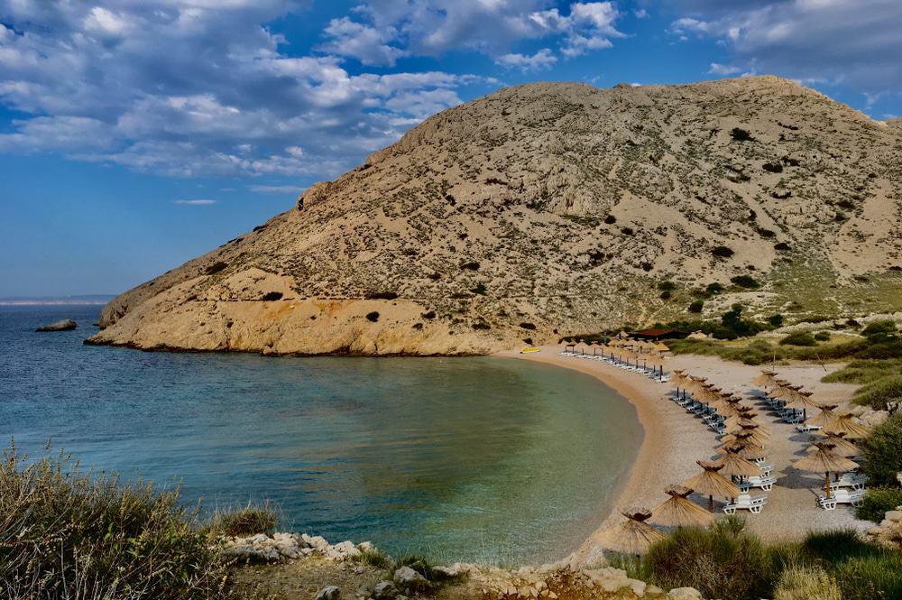 Playa de Oprna, Krk