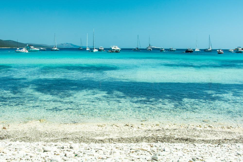 Playa Saharun, Isla Dugi