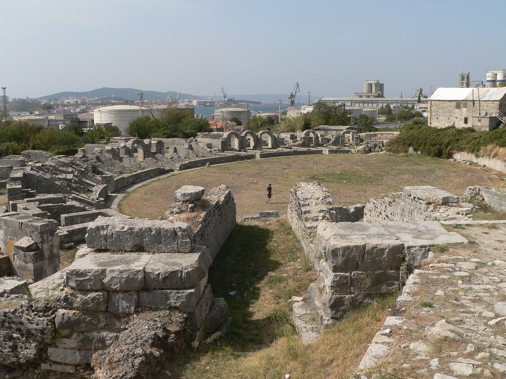 Salona, Croacia