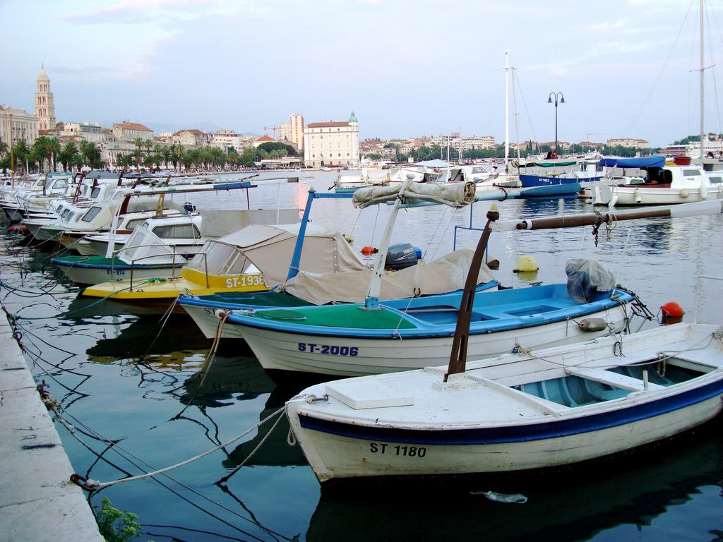 Barcos en Split