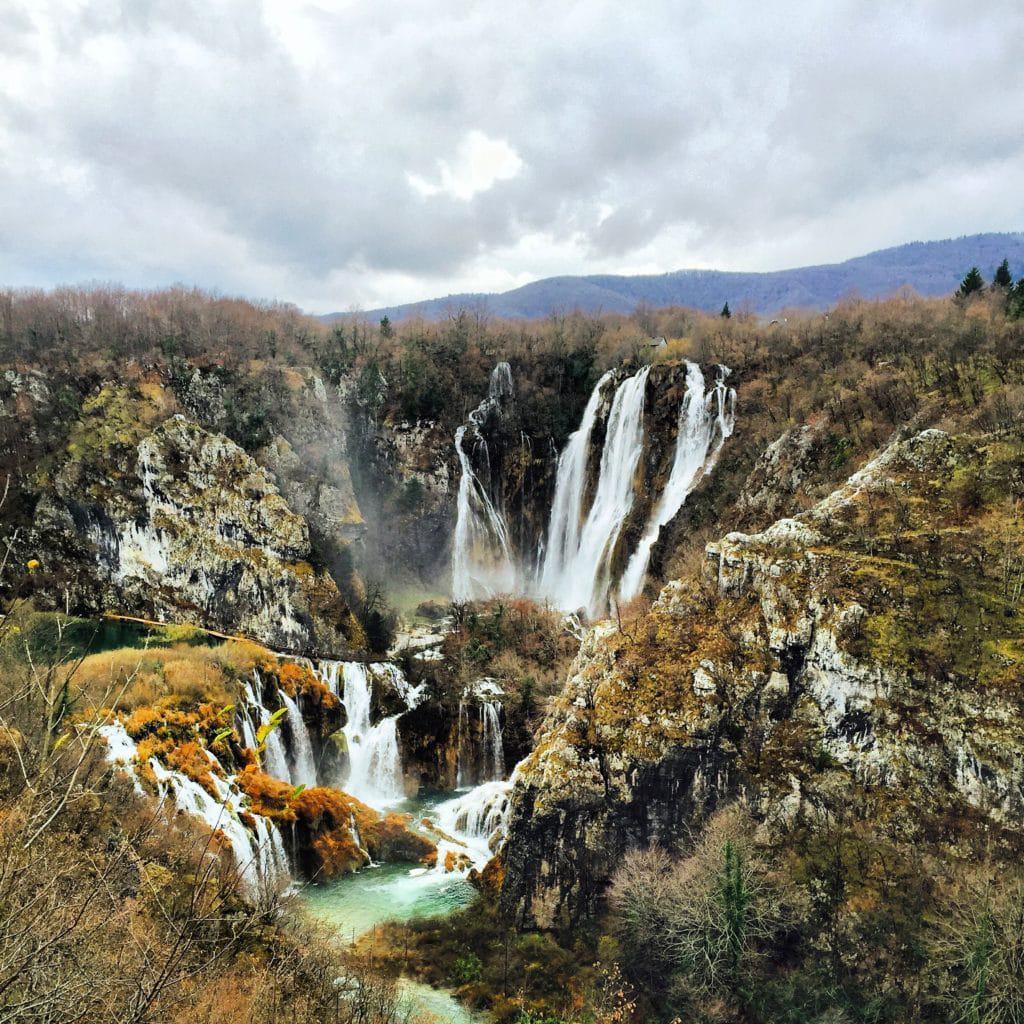 Cascadas de Sastavci