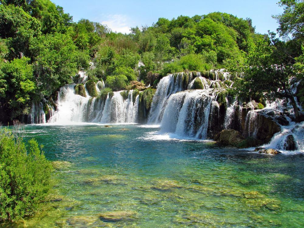 Cascada de Roski, Croacia