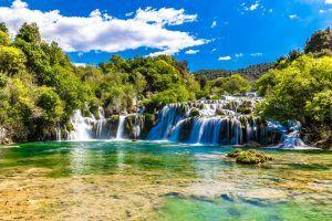 15 increíbles cascadas en Croacia